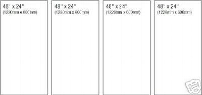 "44/""x86/"" 4 Panel Canvas Print Size Upgrade 4 x 48/""x24/"""
