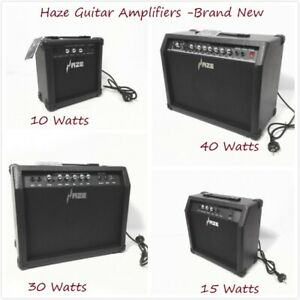 Haze-10W-15W-30W-40W-Guitar-Amplifiers-Brand-New-Black-Combo-Amplifier