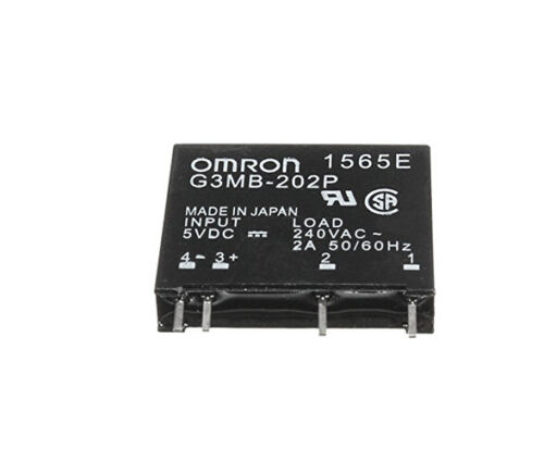 G3MB-202P-5VDC DC-AC PCB SSR In 5V DC Out 240V AC 2A Solid State Relay TB