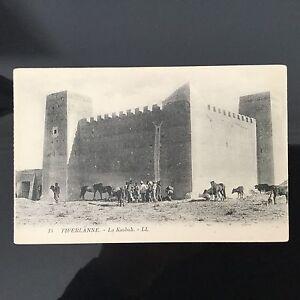 CPA-Algerie-Tiferlanne-La-Kasbah-Alger-Animee-Postcard-Carte-Postale