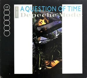 Depeche-Mode-Maxi-CD-A-Question-Of-Time-Extended-Remix-Digipak-USA-VG-M