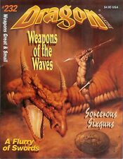 TSR AD&D Dungeons & Dragon Magazine #232 Sixguns Swords Siege Engines!