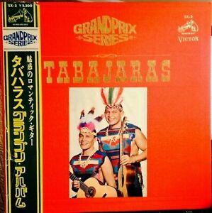 LOS-INDIOS-TABAJARAS-LP-GRAND-PRIX-SERIES-with-OBI-RCA-Japan-SX-3-1967-EX