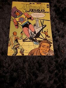 MIRACLE MAN Nr. 14, Superhelden Comic, BSV-Verlag 1968