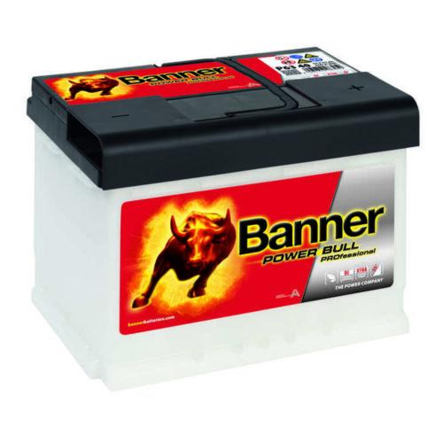 Banner Power Bull PRO Professional Autobatterie 63Ah 600A 12Volt P6340