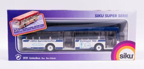 2104 Werbemodell - 1. Siku Sammler Treffen OVP Siku 3121 Mercedes Linienbus