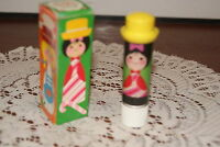 Avon 1970 Small World Lipkins French Mint W / Box