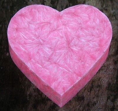 100hr CAMPFIRE SMOKE Huge Scented Love Heart CANDLE MELT for Oil Burner GIFT