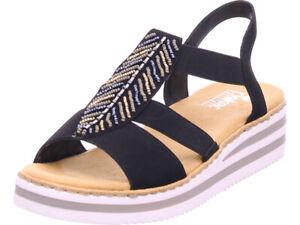 Rieker Damen Sandale Sandalette Sommerschuhe Sonstige