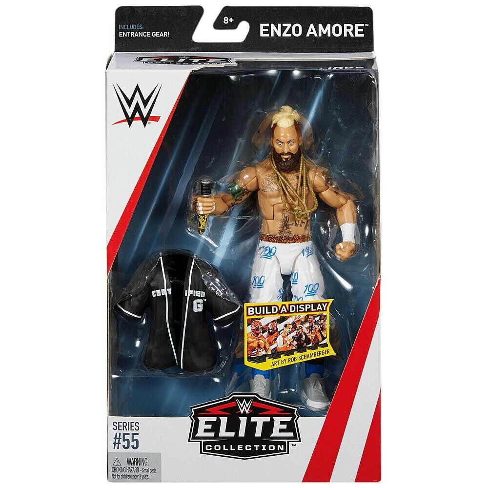 WWE Wrestling Elite Series 55 Enzo Amore Action Figure [Entrance Gear]