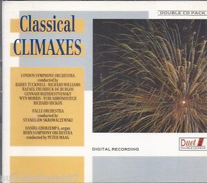 CLASSICAL-CLIMAXES-LSO-HALLE-ORCH-DUET-27-2CD-BOX-FIREWORK-CD-1989-MINT-OOP