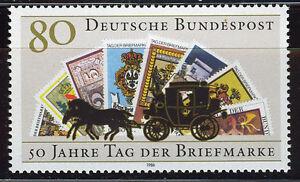 ALEMANIA-RFA-WEST-GERMANY-1986-MNH-SC-1473-Stamp-Day