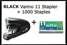2x2 Coin Flips Black Vaimo 11 Palm Size Max Flat Clinch Stapler1000 Staples New