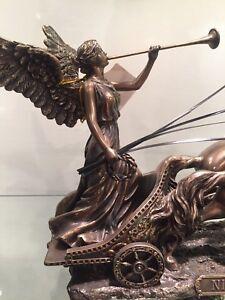super popular 07929 637ba ... Acabado-en-bronce-romano-Carro-estatua-caballo-Hembra-