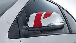 Genuine Kia Picanto 2011 Onwards Sporty Dark Red Mirror Decals 1Y430ADE00DR