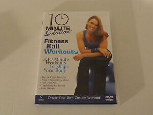 Sale Fitness Ball Workouts DVD 5x10 Minute Solutions 50 mins - Glasgow, United Kingdom - Sale Fitness Ball Workouts DVD 5x10 Minute Solutions 50 mins - Glasgow, United Kingdom