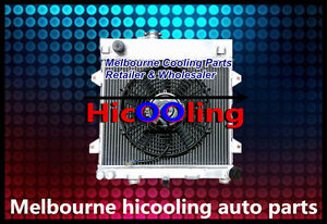 Aluminum-radiator-for-BMW-E30-M10-316i-318i-1982-1991-Manual-14-inch-FAN