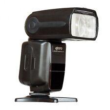 Kenro Standard Speedflash Flashgun for Canon & Nikon in Black KFL101 (UK Stock)