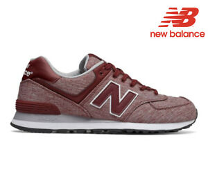 Dettagli su New Balance 574 da Uomo Running Scarpe Ginnastica Mercury Red Taglia 9 o 12