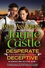 Desperate and Deceptive : The Guinevere Jones Collection Volume 1 by Jayne Castle (2014, Paperback)