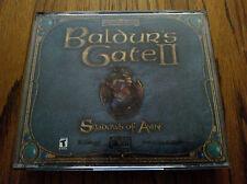 Baldur's Gate 2 : Shadows of Amn PC game (4 discs) Complete!