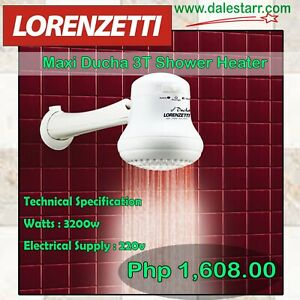 Lorenzetti-Shower-Heater