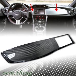 Carbon Fiber For Toyota Gt86 Scion Fr S Subaru Brz Dash Radio Bezel Panel Cover Ebay