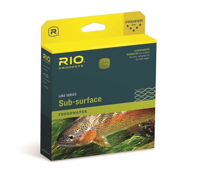 RIO Camolux Lake Fly Line - WF5i - color Clear Camo - New