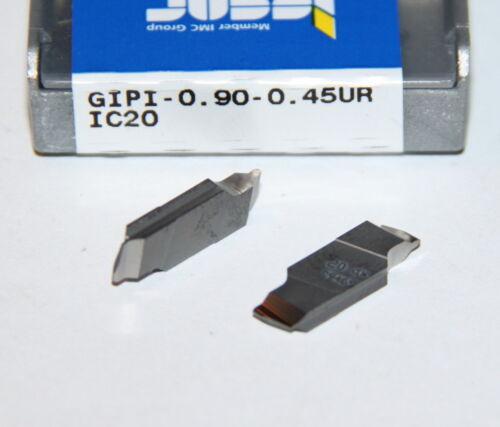GIPI 0.90-0.45UR IC20 ISCAR ** 10 INSERTS **