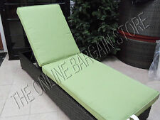 Pottery Barn Chesapeake Outdoor Patio SINGLE Chaise CUSHION Sunbrella Peridot : pottery barn chaise cushion - Sectionals, Sofas & Couches