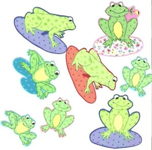 Happy-Frogs-Iron-On-Fabric-Appliques