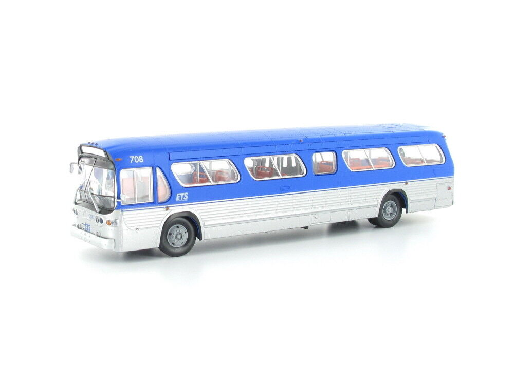 venta al por mayor barato Escala H0-1959-1986 GM Fishbowl Bus Bus Bus Edmonton Transit 701022 Neu  mejor moda