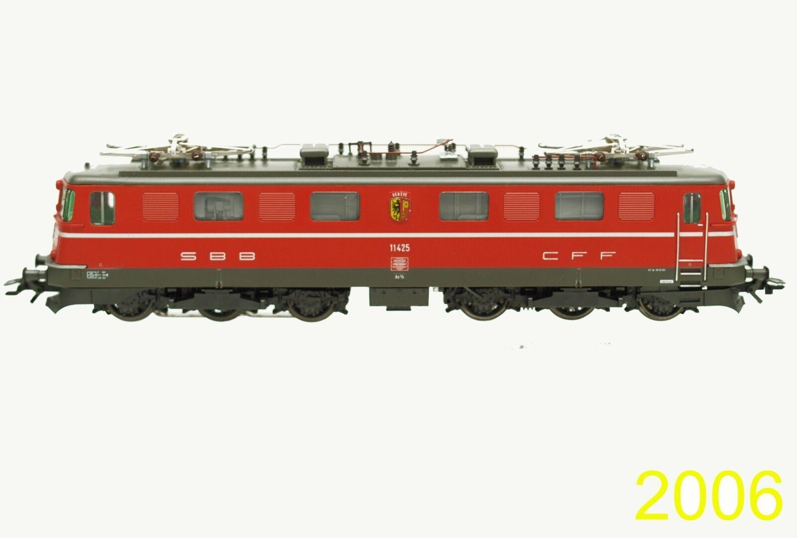 3636 AE 6/6 SSB CFF 11425 E-Lok Electric Locomotive OVP Digital