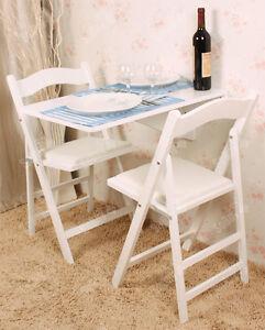 SoBuy® Tavolo da muro pieghevole in legno 70×45cm,senza sedia, FWT04 ...