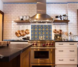 California Art Deco Tile Khalik B 6 X6 Per Sqft 4 Pcs Ebay