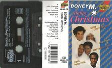 N MC CASSETTA Boney M/Happy Chrismas, Little Drummer Boy, jingle bells,