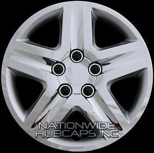 "Chevy Malibu Hubcaps New Set of 4 fits 2000-2011 Chevy Impala CHROME 16"" Full ..."