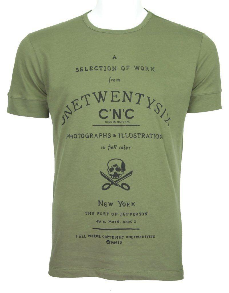 C'N'C (Costume National) 126 slim fit tee olive
