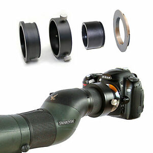 Nikon F camera adapter for Swarovski Spotting Scope ATS STS 80 25-50x eyepiece