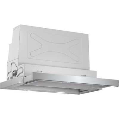 Bosch DFS067A50B Serie 4 Built In 60cm 3 Speeds B Integrated Cooker Hood Silver