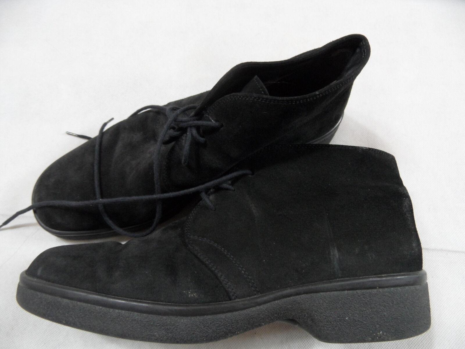 GABOR Sport schöne Wildleder Schnür-Boots black Gr. 7,5 ( 41 ) TOP RAL119