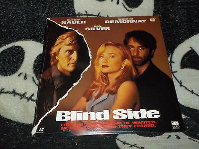 100% QualitäT Blind Side Neu Originalverpackt Laserdisc Ld Rutger Hauer Rebecca Demornay Frei Waren Jeder Beschreibung Sind VerfüGbar