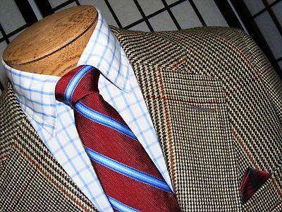 Mens Sz 40l Tailored Slim Fit Vintage Paul Stuart Tweed Style Blazer Sportscoat Suits & Suit Separates Clothing, Shoes & Accessories