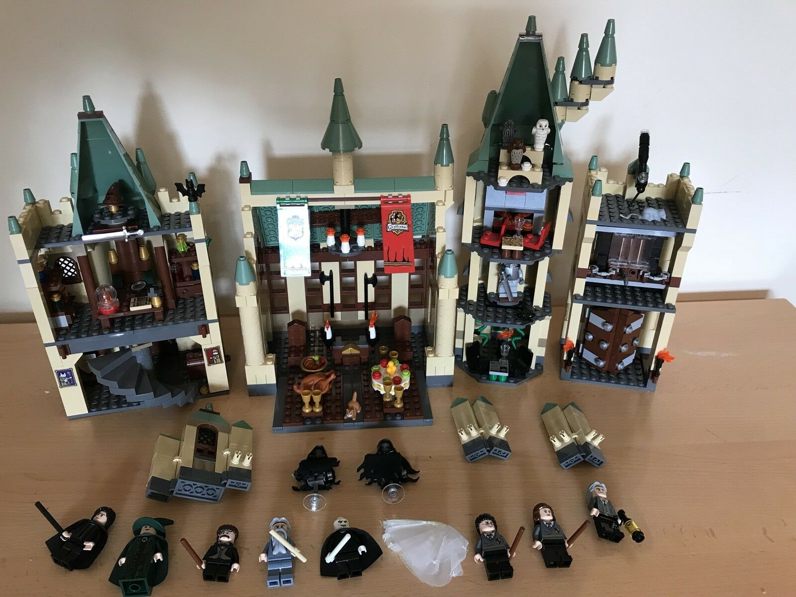 Harry Potter Lego Castle 100% Complete With All Mini Figures