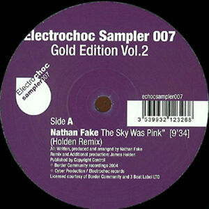 Extrawelt-SOOPERTRACK-Nathan-Fake-SKY-WAS-PINK-Fairmont-Gazebo-New-12-034-Vinyl