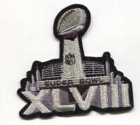 2-2-2014 MetLife Stadium NJ SUPER BOWL XLVIII  SUPERBOWL SB 48 JERSEY PATCH
