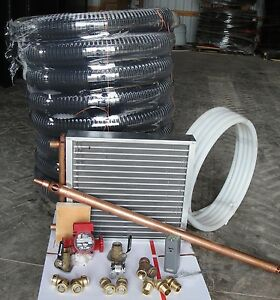 Outdoor Wood Furnace Boiler Installation Kit Heat