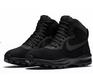 Nike-Manoadome-Winter-Hiking-Boots-Black-Anthracite-844358-003-Men-039-s-NEW