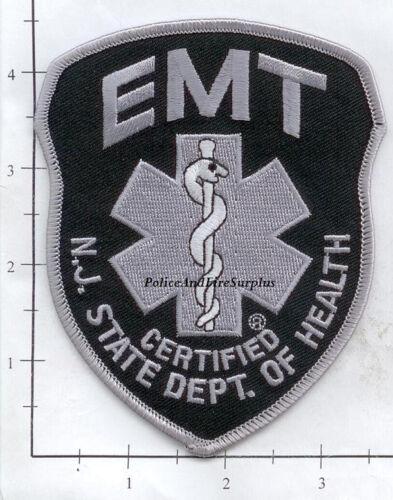 Subdued New Jersey NJ State Dept of Health EMT Fire Dept Patch