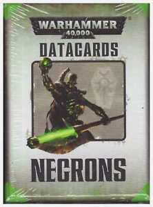 GW-Warhammer-40k-7th-Edition-Necrons-Datacards-Factory-Sealed